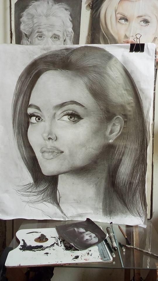 Angelina Jolie by jeshua7